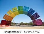 Rainbow Sea Container Abstract...