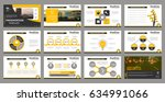 creative set of abstract... | Shutterstock .eps vector #634991066