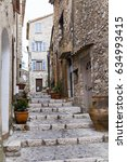 saint paul de vence  france  ... | Shutterstock . vector #634993415
