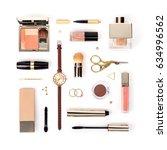 set of professional decorative... | Shutterstock . vector #634996562