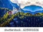 Mountain Castle Landscape