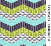 seamless pattern  patchwork... | Shutterstock .eps vector #635087666