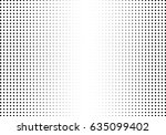 abstract halftone dotted... | Shutterstock .eps vector #635099402