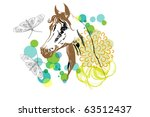 Horse And Butterfly