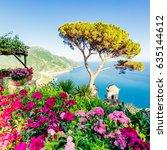 ravello  amalfi coast  italy   Shutterstock . vector #635144612