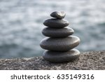 Five Stones Cairn Tower  Rock...