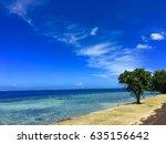coastline and coast road of... | Shutterstock . vector #635156642