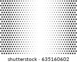 abstract halftone dotted...   Shutterstock .eps vector #635160602