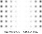 abstract halftone dotted... | Shutterstock .eps vector #635161106