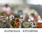 Glass Pipes On Display At A...