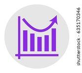 business graph charts. vector.... | Shutterstock .eps vector #635170346