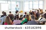 business and entrepreneurship... | Shutterstock . vector #635182898