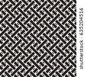 seamless woven stripes lattice... | Shutterstock .eps vector #635204516