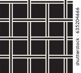 seamless woven stripes lattice... | Shutterstock .eps vector #635204666