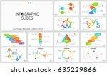 big set of minimal infographic...   Shutterstock .eps vector #635229866