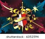 heraldic composition | Shutterstock .eps vector #6352594