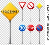 Road Signs Collection. Road...