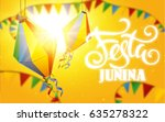 festa junina background holiday | Shutterstock .eps vector #635278322