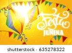 festa junina background holiday   Shutterstock .eps vector #635278322