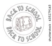 back to school | Shutterstock .eps vector #635279165