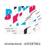 vector illustration for design... | Shutterstock .eps vector #635287862