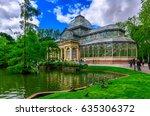 crystal palace  palacio de... | Shutterstock . vector #635306372