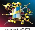 heraldic composition | Shutterstock .eps vector #6353071