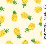 Seamless Pineapple Pattern  ...