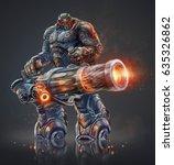 Alien Cyborg Transformer...
