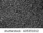 black asphalt texture. asphalt... | Shutterstock . vector #635351012