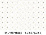 golden texture. geometric... | Shutterstock .eps vector #635376356