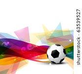 beautiful football vector... | Shutterstock .eps vector #63539527