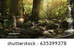 fabulous  magical  mysterious... | Shutterstock . vector #635399378