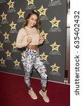 sommer ray attends  celebrity... | Shutterstock . vector #635402432
