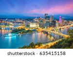 View Of Downtown Pittsburgh...