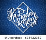 vector illustration of hand... | Shutterstock .eps vector #635422352