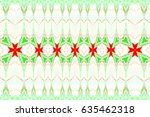 colorful horizontal pattern for ... | Shutterstock . vector #635462318