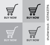 shopping cart  buy now  icon.... | Shutterstock .eps vector #635463596