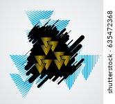 minimalistic creative concept . ... | Shutterstock .eps vector #635472368
