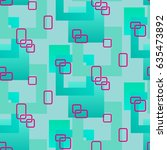 endless abstract pattern.... | Shutterstock .eps vector #635473892