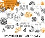 vector illustration sketch  ... | Shutterstock .eps vector #635477162