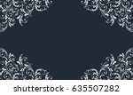 lace border for decoration of... | Shutterstock .eps vector #635507282