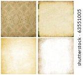 old paper set   Shutterstock . vector #63551005