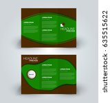 brochure template. business... | Shutterstock .eps vector #635515622