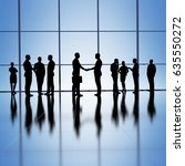 business group concept... | Shutterstock . vector #635550272