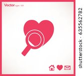 search the heart icon