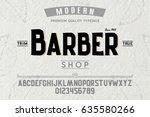 font.alphabet.script.typeface... | Shutterstock .eps vector #635580266