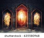 Dark Chamber With Magic Mirror...