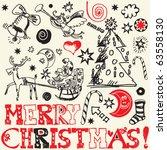 Scribble Christmas  Funny...