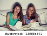 friendship  people  pajama... | Shutterstock . vector #635586692